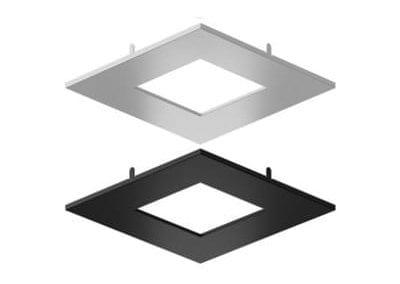 Garniture carrée de 4 po